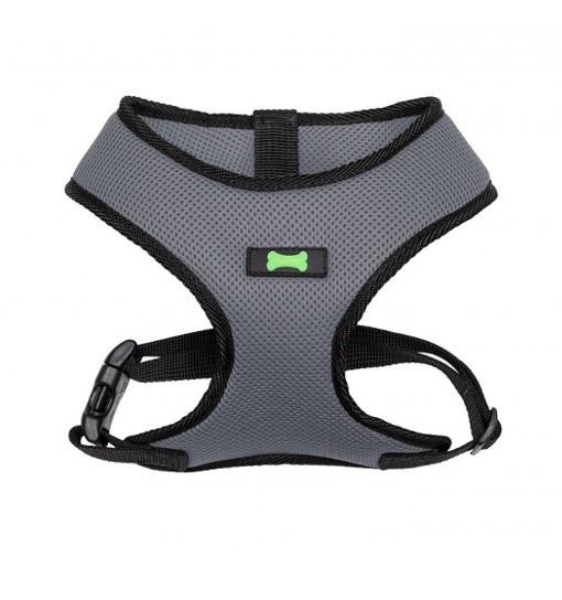 Textile Comfort – szelki bezuciskowe (szaro-czarne)