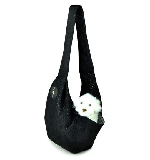 Lauren Design Nosidło dla psa 50x22x22 cm - czarne