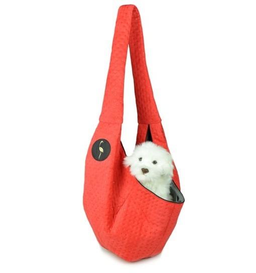 Lauren Design Nosidło dla psa 50x22x22 cm - czerwone