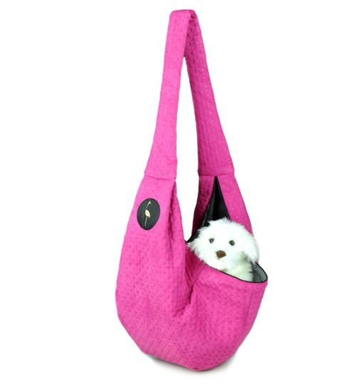 Lauren Design Nosidło dla psa 50x22x22 cm - różowe