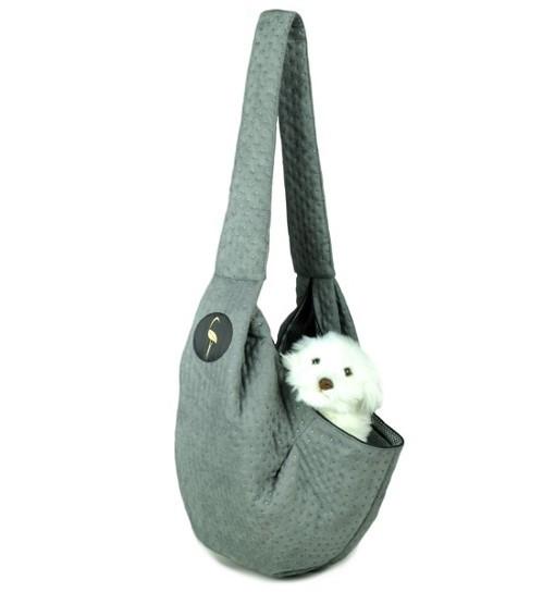 Lauren Design Nosidło dla psa 50x22x22 cm - szare