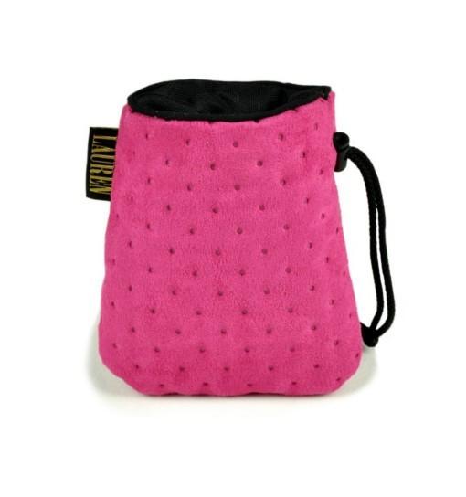 Lauren Design Torebka na przysmaki 15x13 cm - różowa