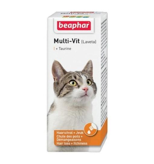 Beaphar Multi-vit (Laveta) dla kotów 50ml