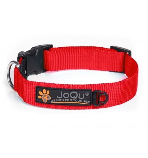 JoQu Classic Collar - klasyczna czerwona obroża
