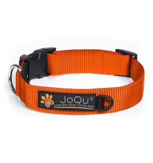 JoQu Classic Collar - klasyczna pomarańczowa obroża