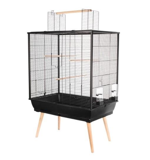 ZOLUX Klatka NEO JILI dla ptaków H80 - czarna