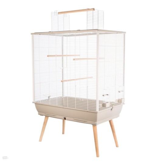 ZOLUX Klatka NEO JILI dla ptaków H80 - beżowa