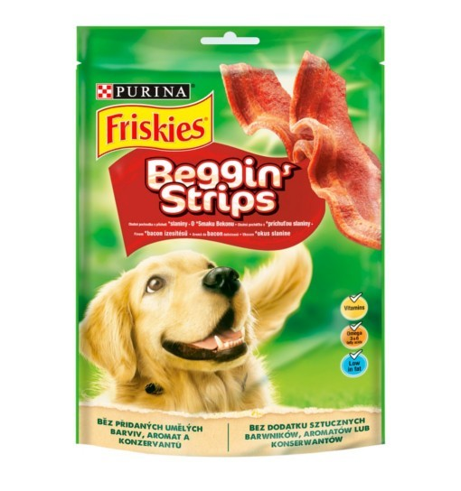 FRISKIES Beggin Strips 120g