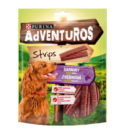 Purina ADVENTUROS Strips 90g