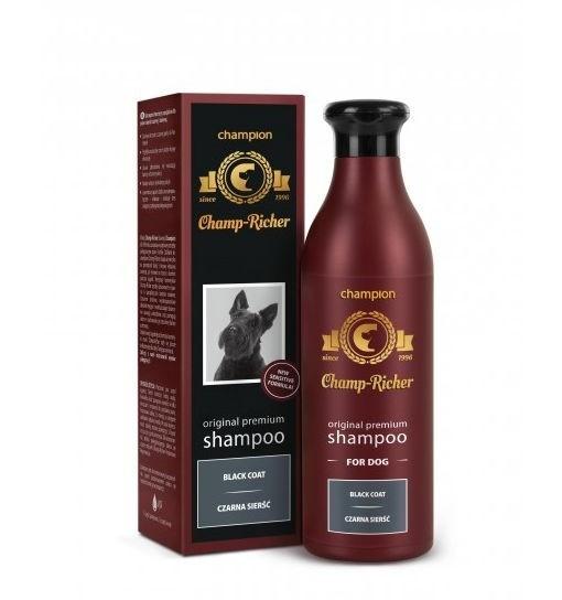 CHAMP-RICHER - szampon do sierści czarnej 250 ml