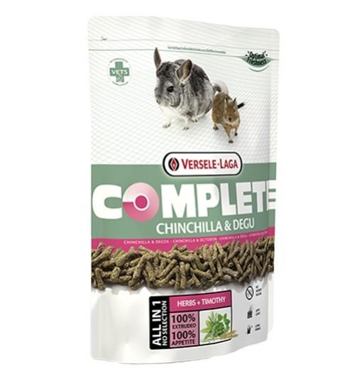Versele-Laga Chinchilla & Degu Complete - ekstrudat dla szynszyli i koszatniczek