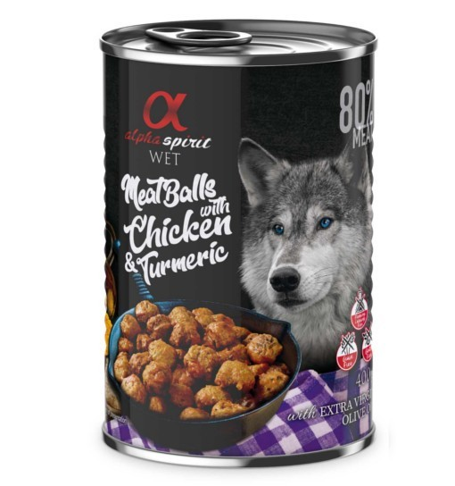 MeatBalls (Kulki Mocy) - kurczak z kurkumą 400g