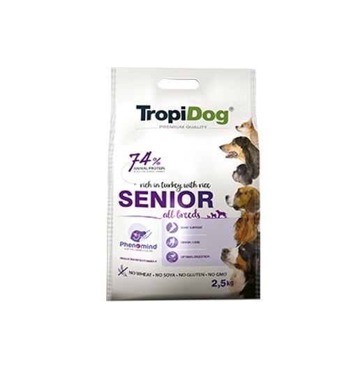 Tropidog Premium Senior All Breeds - psy wszystkich ras po 7 roku życia