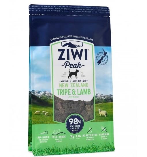 Ziwi Peak Tripe&Lamb - delikatnie suszony powietrzem żwacz i jagnięcina