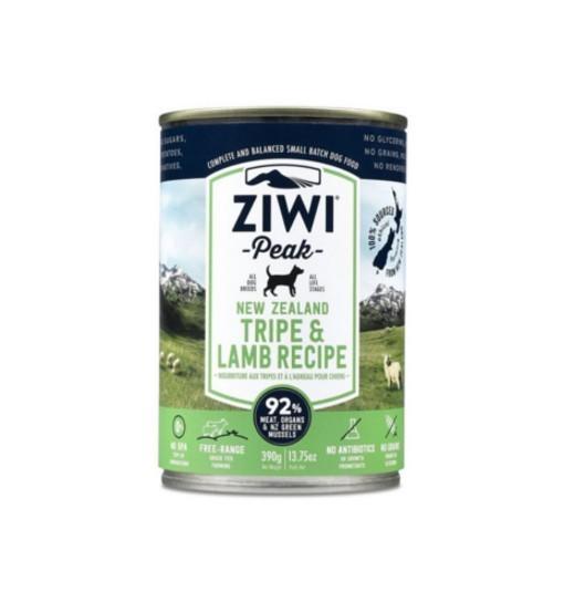 Ziwi Peak Tripe&Lamb - żwacz i jagnięcina w puszce 390g