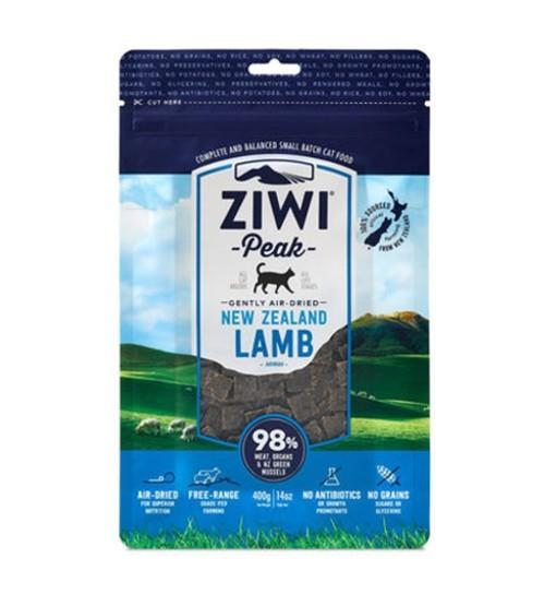 Ziwi Peak Lamb Cat - delikatnie suszona powietrzem jagnięcina 400g