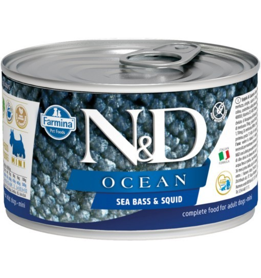 N&D OCEAN SEA BASS & SQUID Adult Dog
