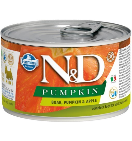 N&D PUMPKIN BOAR & APPLE Adult Dog