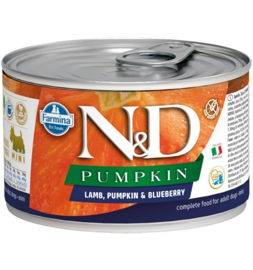 N&D PUMPKIN LAMB & BLUEBERRY Adult Dog