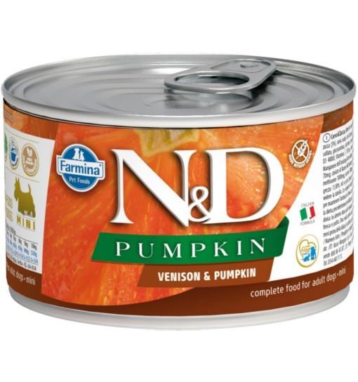 N&D PUMPKIN VENISON & PUMPKIN Adult Dog