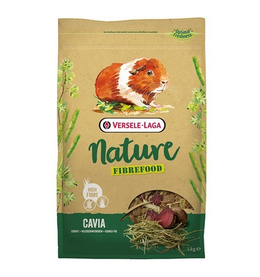 Versele-Laga Cavia Nature Fibrefood - pokarm LIGHT/SENSITIVE dla kawii domowych
