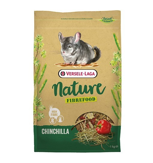 Versele-Laga Chinchilla Nature Fibrefood - pokarm LIGHT/SENSITIVE dla szynszyli