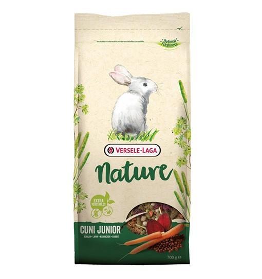 Versele-Laga Cuni Junior Nature - pokarm dla młodych królików miniaturowych