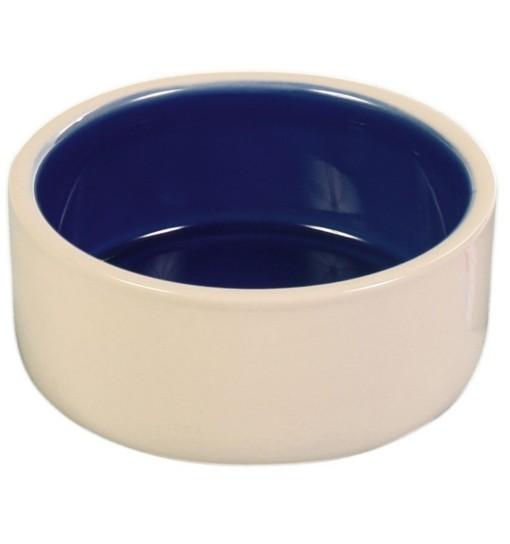 Trixie Miska ceramiczna kremowo/granatowa