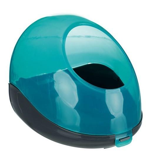Trixie Zamknięta, plastikowa kąpielówka dla szynszyli 27x18x16 cm