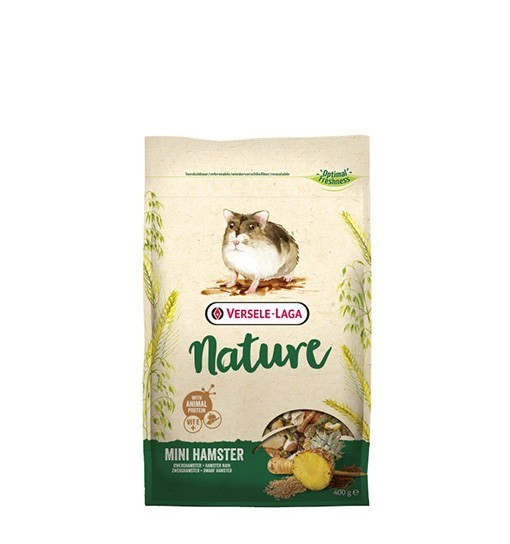 Versele-Laga Mini Hamster Nature 400 g - pokarm dla chomików karłowatych