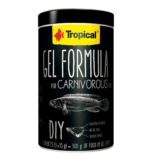 Tropical Gel Formula Carnivore 1000ml /105g (3x35g)