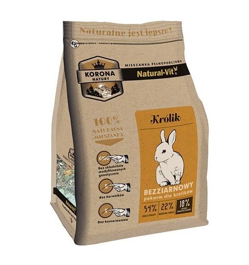 Korona Natury Pokarm dla królika 750g