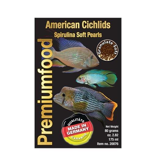 South American Cichlid spirulina pearls - pokarm dla pielęgnic