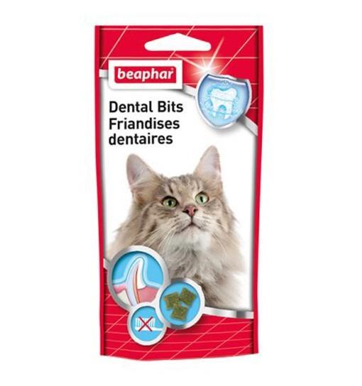 Beaphar Dental Bits 35g - przysmak z chlorofilem dla kotów