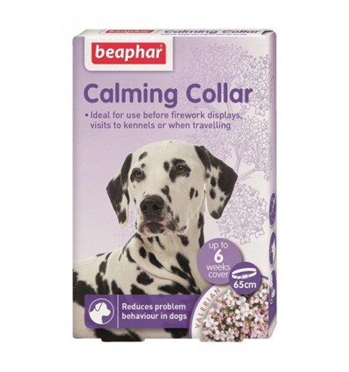 Beaphar Calming Collar - obroża relaksacyjna dla psów 65 cm