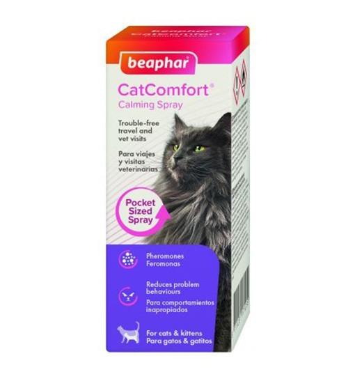 Beaphar CatComfort Calming Spray - kieszonkowy spray z feromonami dla kotów
