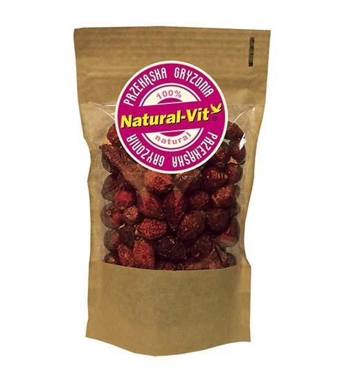 Natural-vit przekąski - owoc dzikiej róży 100g