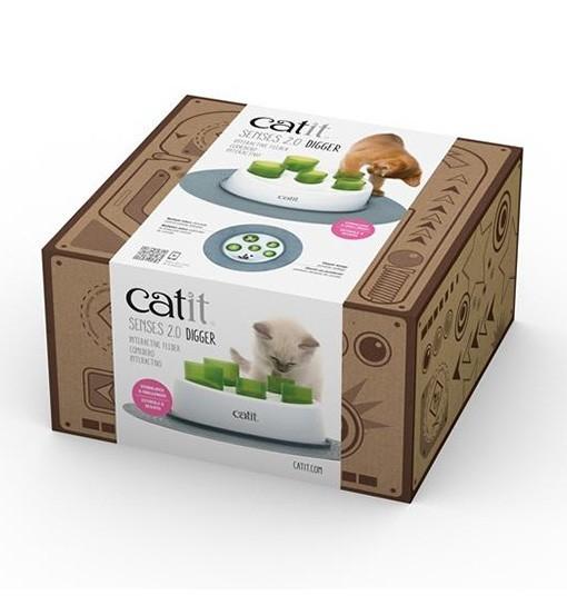 Zabawka do dokarmiania dla kota Catit Senses 2.0 Digger
