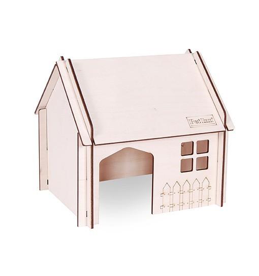Pet Inn Składany domek dla gryzoni ze spadzistym dachem