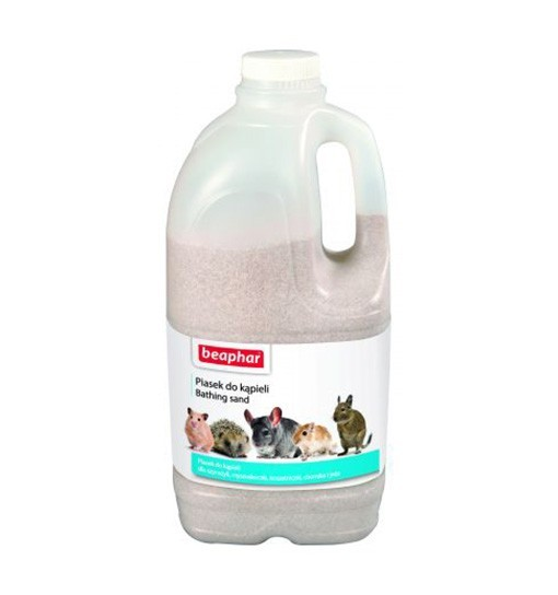 Beaphar Bathing Sand 1,3 kg - piasek do kąpieli dla małych zwierząt