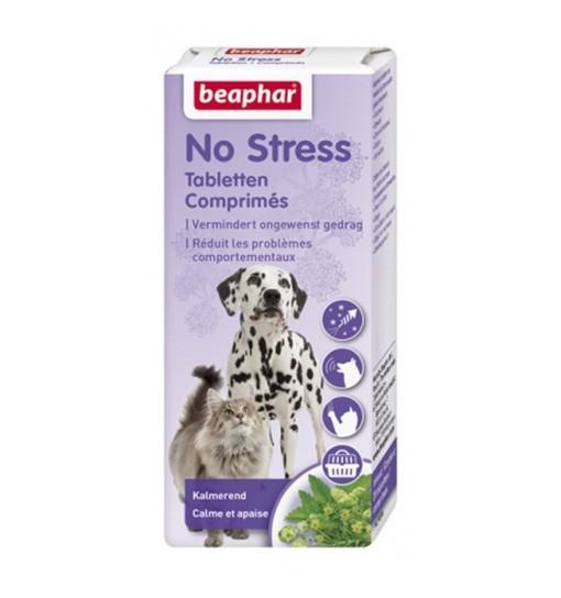 Beaphar No Stress 20 tabletek - tabletki redukujące stres