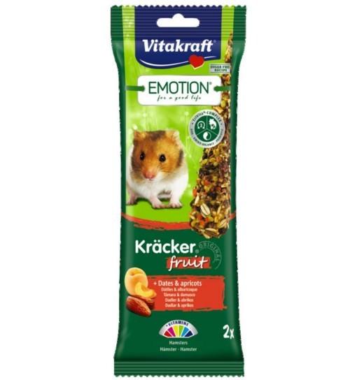 Vitakraft Emotion Kracker Fruit dla chomika /2szt