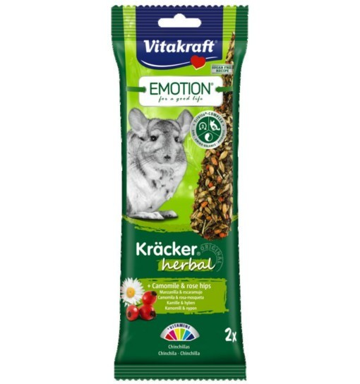 Vitakraft Emotion Kracker Herbal dla szynszyli /2szt