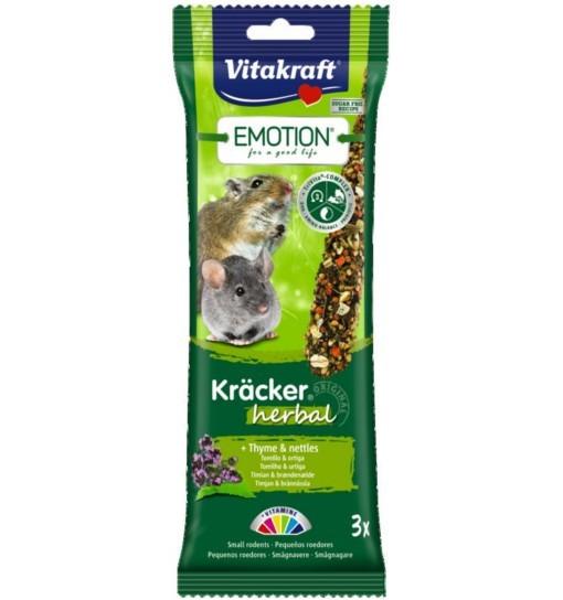 Vitakraft Emotion Kracker Herbal dla małych gryzoni /2szt