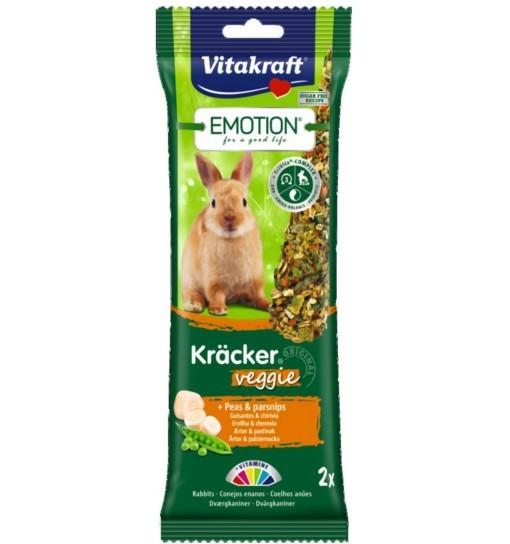 Vitakraft Emotion Kracker Veggie dla królika /2szt