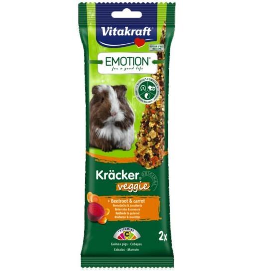 Vitakraft Emotion Kracker Veggie dla świnki morskiej /2szt