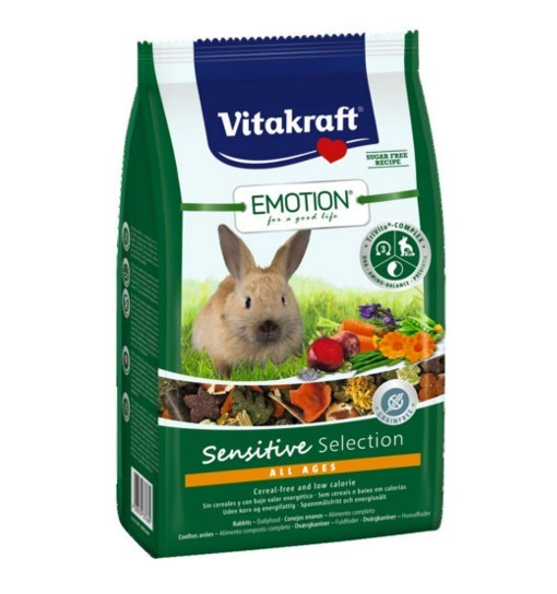 Vitakraft Emotion Sensitive 600g - pokarm dla królika