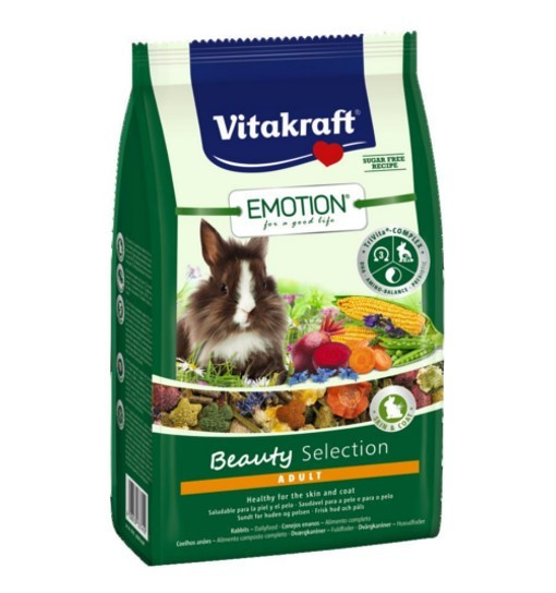 Vitakraft Emotion Beauty 600g - pokarm dla królika