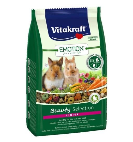 Vitakraft Emotion Beauty Junior 600g - karma dla młodych królików