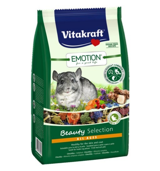 Vitakraft Emotion Beauty 600g - karma dla szynszyli